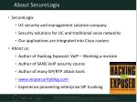 about securelogix