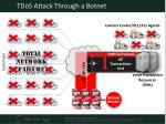tdos attack through a botnet