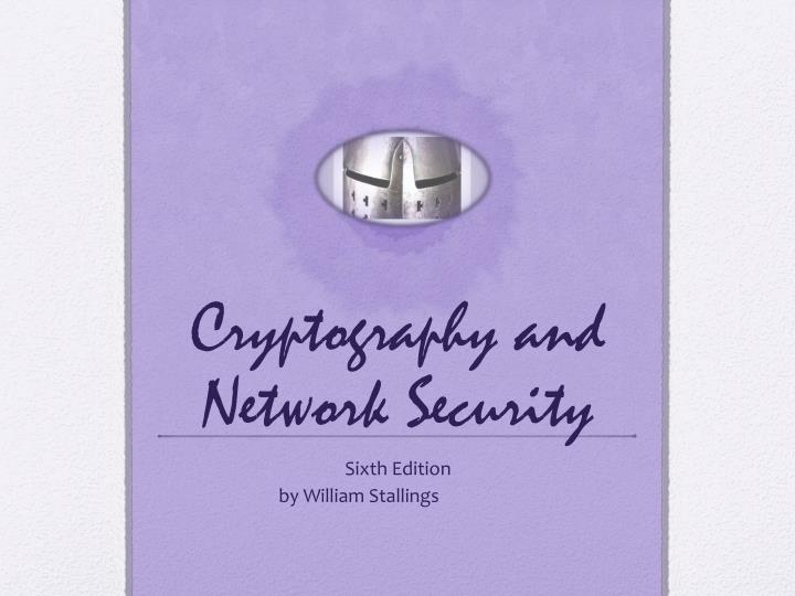 cryptography and network security n.