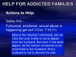 help for addicted families24