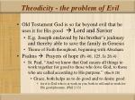 theodicity the problem of evil2