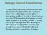 damage control resuscitation