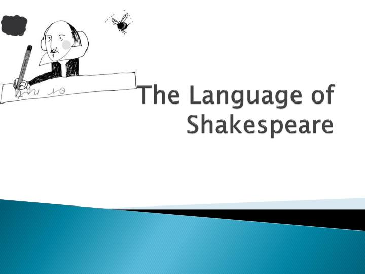the language of shakespeare n.