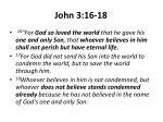 john 3 16 18