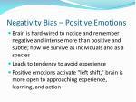negativity bias positive emotions