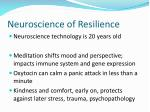 neuroscience of resilience
