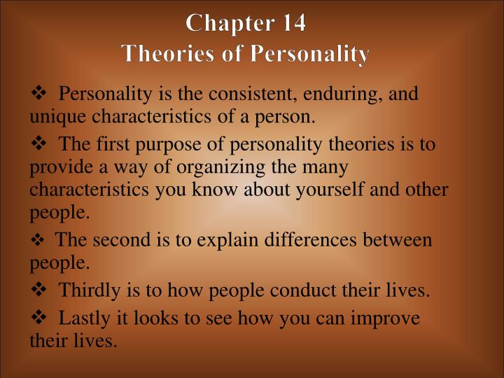 chapter 14 theories of personality n.
