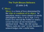 the truth blesses believers 2 john 1 43