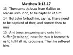 matthew 3 13 17