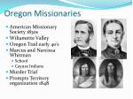 oregon missionaries