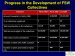 progress in the development of fsw collectives