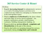 365 service center biznet