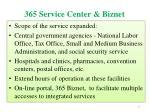 365 service center biznet3