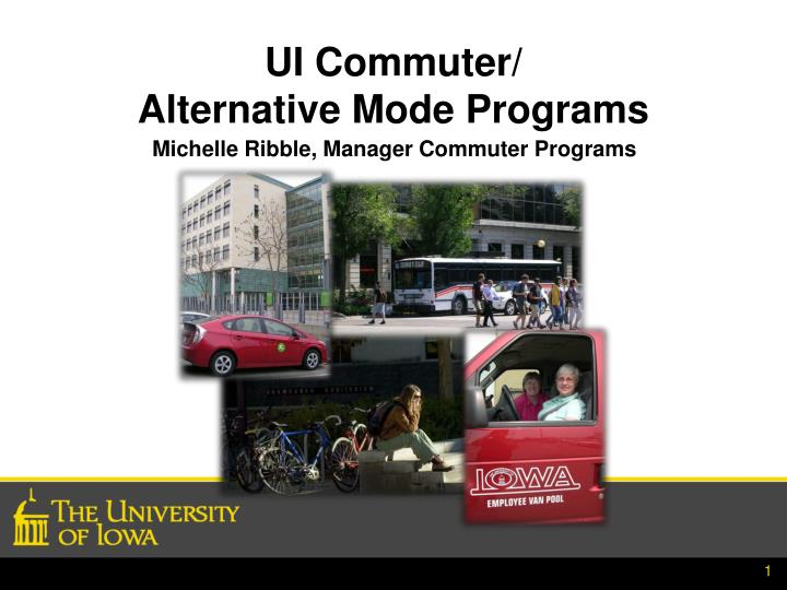 ui commuter alternative mode programs n.