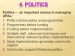 4 politics