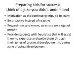 preparing kids for success think of a joke you didn t understand