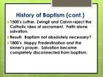 history of baptism cont1