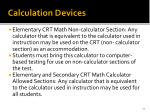 calculation devices