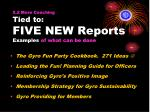 5 2 more coaching tied to five new reports examples of what can be done