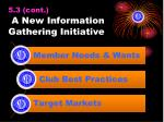 5 3 cont a new information gathering initiative