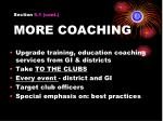 section 5 1 cont more coaching