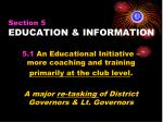section 5 education information