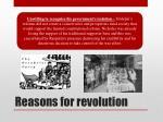 reasons for revolution3
