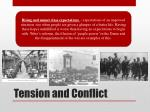 tension and conflict1