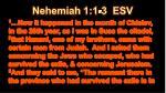 nehemiah 1 1 3 esv
