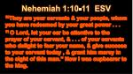 nehemiah 1 10 11 esv