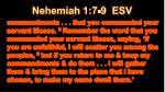 nehemiah 1 7 9 esv