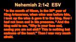 nehemiah 2 1 2 esv