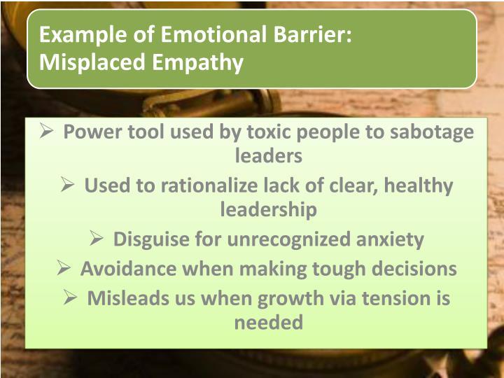 Power tool used by toxic people to sabotage leaders