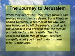 the journey to jerusalem10