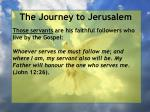 the journey to jerusalem104