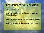 the journey to jerusalem108
