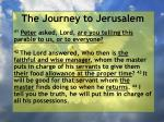 the journey to jerusalem119