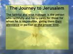 the journey to jerusalem124