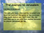 the journey to jerusalem127