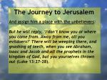 the journey to jerusalem128