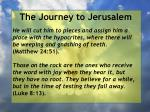 the journey to jerusalem130