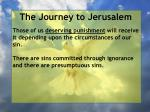 the journey to jerusalem131