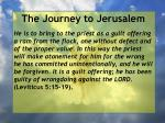 the journey to jerusalem134