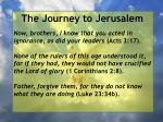 the journey to jerusalem140