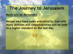 the journey to jerusalem141