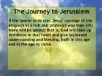 the journey to jerusalem143
