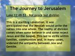 the journey to jerusalem146