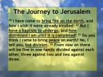 the journey to jerusalem147