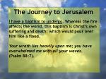 the journey to jerusalem152