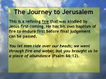 the journey to jerusalem155